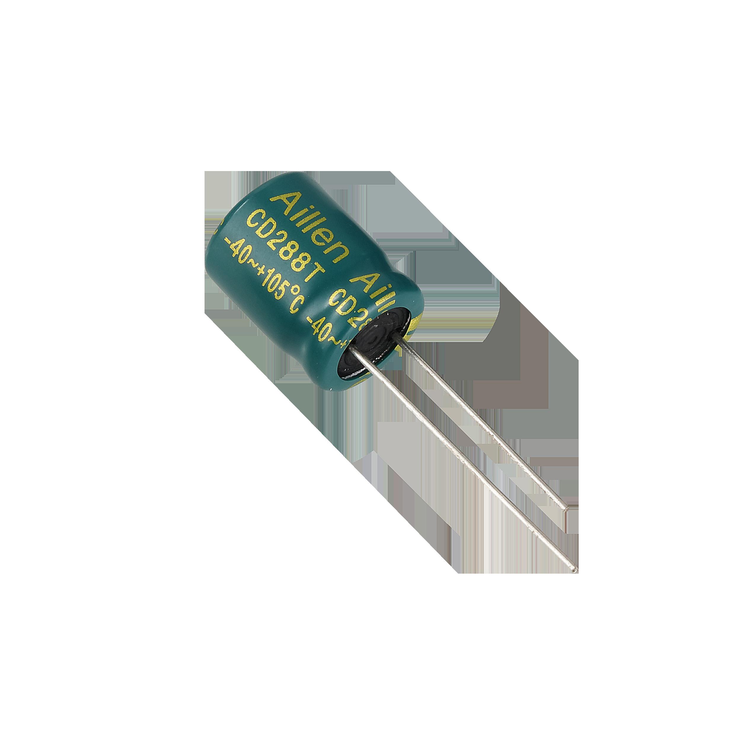 CD288T系列 低阻抗插件铝电解电容