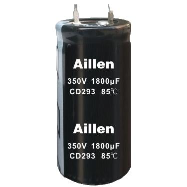 标准品牛角类铝电解电容-CD 293 系列