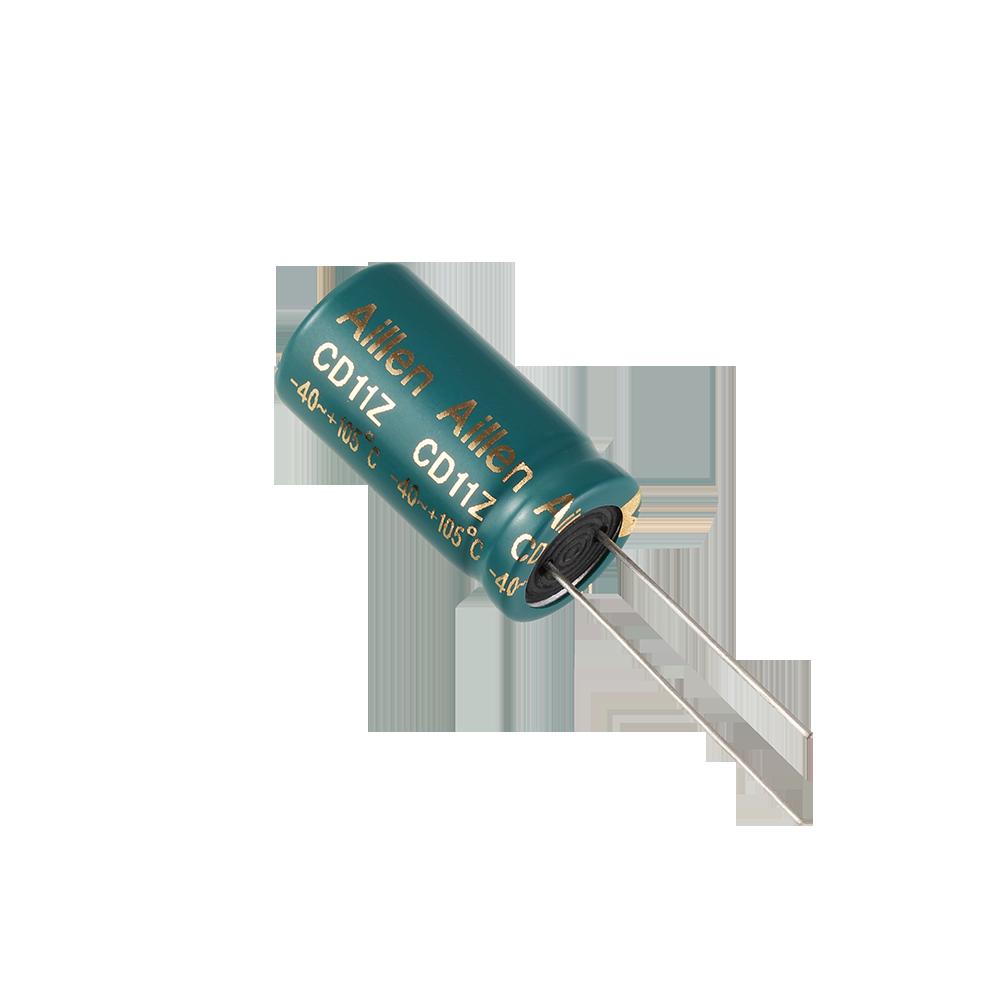CD11Z系列 低阻抗插件铝电解电容