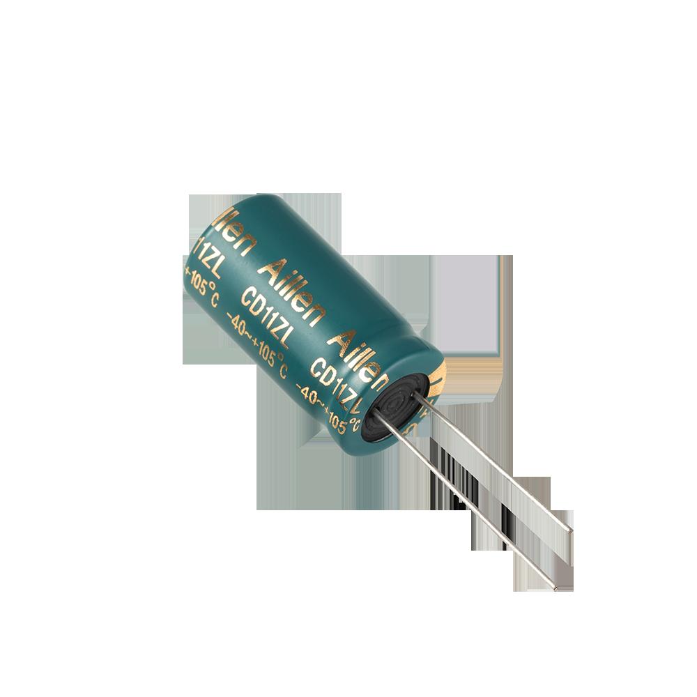 CD11ZL系列 低阻抗插件铝电解电容