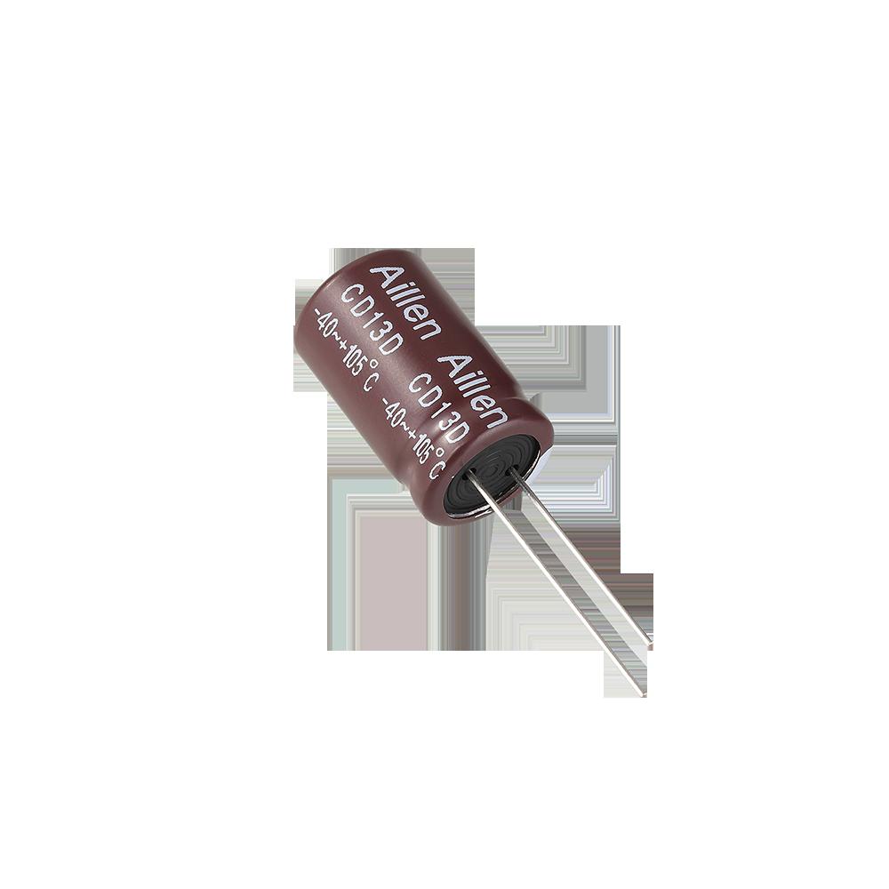 CD13D系列 高温度插件铝电解电容